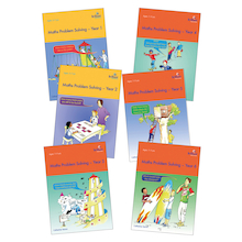 Maths Problem Solving Books Complete Set  medium