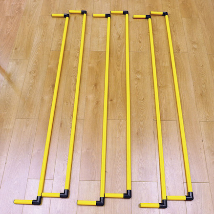 Tinkling Skipping Dancing Sticks Plus Bag  large