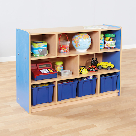 Copenhagen Eight Compartment Bookcase  large