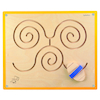 Wooden Manipulative Gross Motor Foot Wall Panel  small