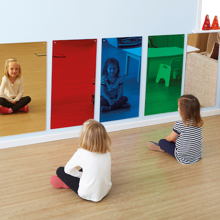 Rainbow Wall Mirrors 80 x 40cm Special Offer  large