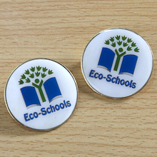 Eco-Schools Button Badges 15pk  medium