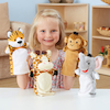 Role Play Zoo Animals Puppet Set 4pcs  small