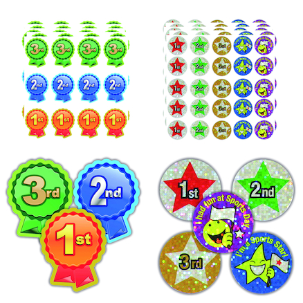 Sports Day Stickers 185pk  large