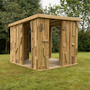 Outdoor Wooden Shabby Shack Shelter  small