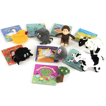 Parents Take Home Rhyme Book and Toy Set 8pk  medium