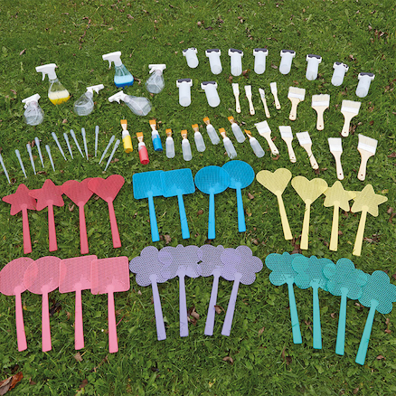 Exploring Paint and Patterns Outdoor Kit 72pk  large