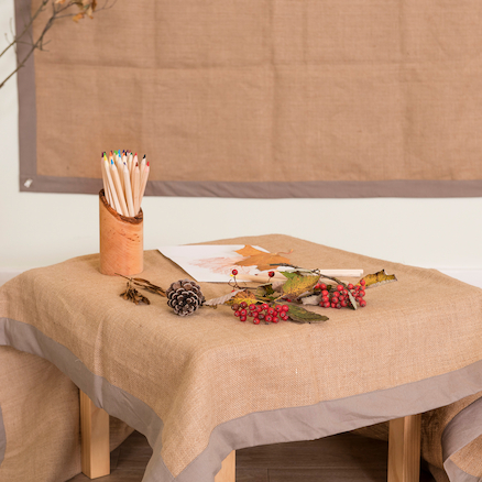 TTS Hessian Display Table\/Wall Cloths 2pk  large