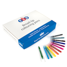 TTS Assorted Colouring Pens  medium