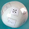 Blank Inflatable Catch Ball  small