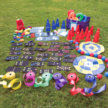 Maths Outdoor Grab And Go Kit KS1  large