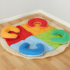 Group Fabric Horseshoe Mat  small