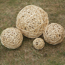 Wicker Balls 4pk  medium