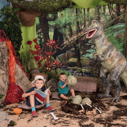 Immersive Environments Backdrops Rainforest  large