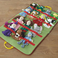 Role Play Carry Along Puppets Set 14pcs  medium