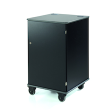 Coloured Mobile Multimedia Cabinets  medium