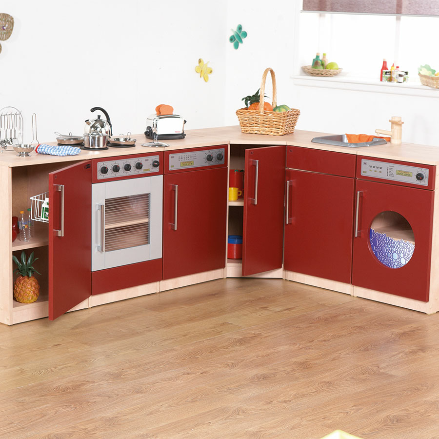 Wooden Kitchen Furniture Photos: Buy Premier Role Play Wooden Kitchen Range