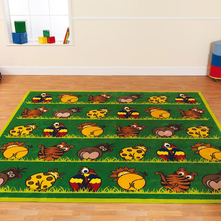 Wild Animal Carpet L300 x W300cm  large