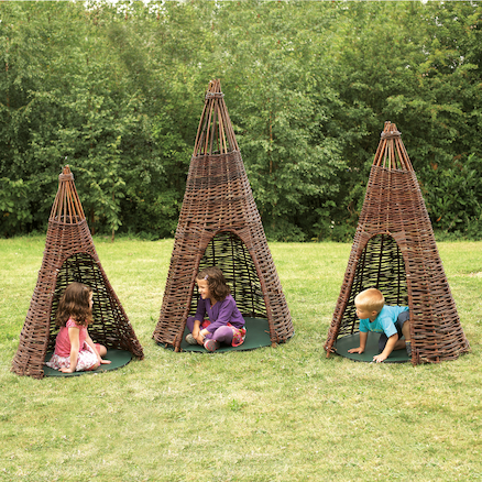 Willow Teepees Buy All and Save  large