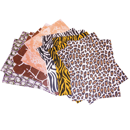 Animal Print Felt Sheets 12pk  large