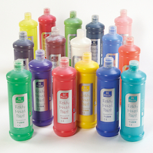 Ready Mixed Paint Assorted 1l 16pk  medium