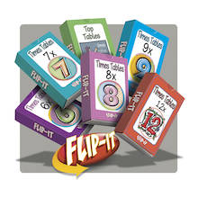 Flip-It Times Tables Set 2  medium