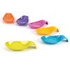 Colourful Plastic Nesting Spoon Set 2  small