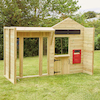Outdoor Wooden Role Play Market Place  small