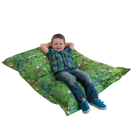 Nature Printed Children\'s Floor Cushion  large