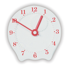 Geared Plastic Teaching Clock  medium