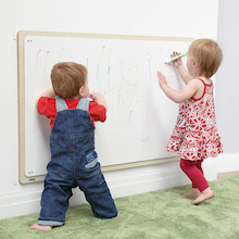 Toddler Wooden Framed Whiteboard   medium