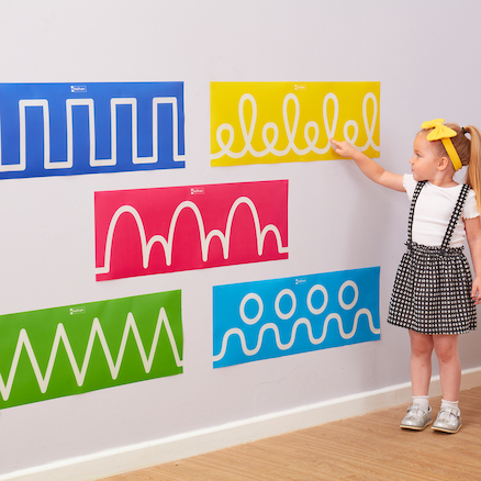 Pre\-Writing Wall Graphics  large