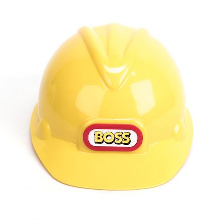 Role Play Construction Workers Hats 4pk  large