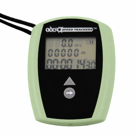 Rechargeable Stopwatch with Speed Tracker 10pk  large