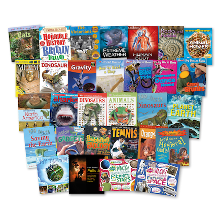 KS2 Non Fiction Library Books 30pk  large
