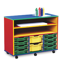 Colour My World Shelving and Tray Storage Unit  medium