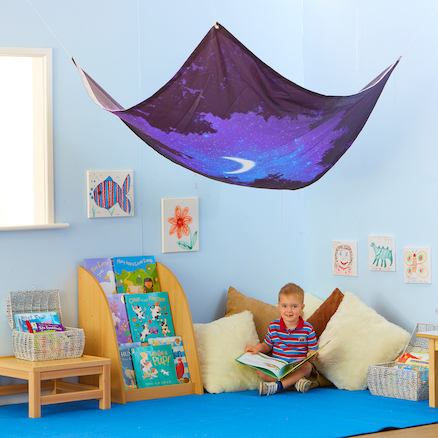 Creative Natural Fabric Canopies  large