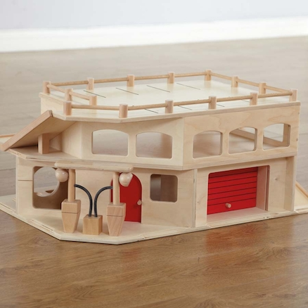 Small World Wooden Multistorey Parking Garage  large