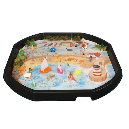Active World Tuff Tray Seaside Mat  large