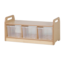 PlayScapes Open Shelf H43 x 90cm  medium