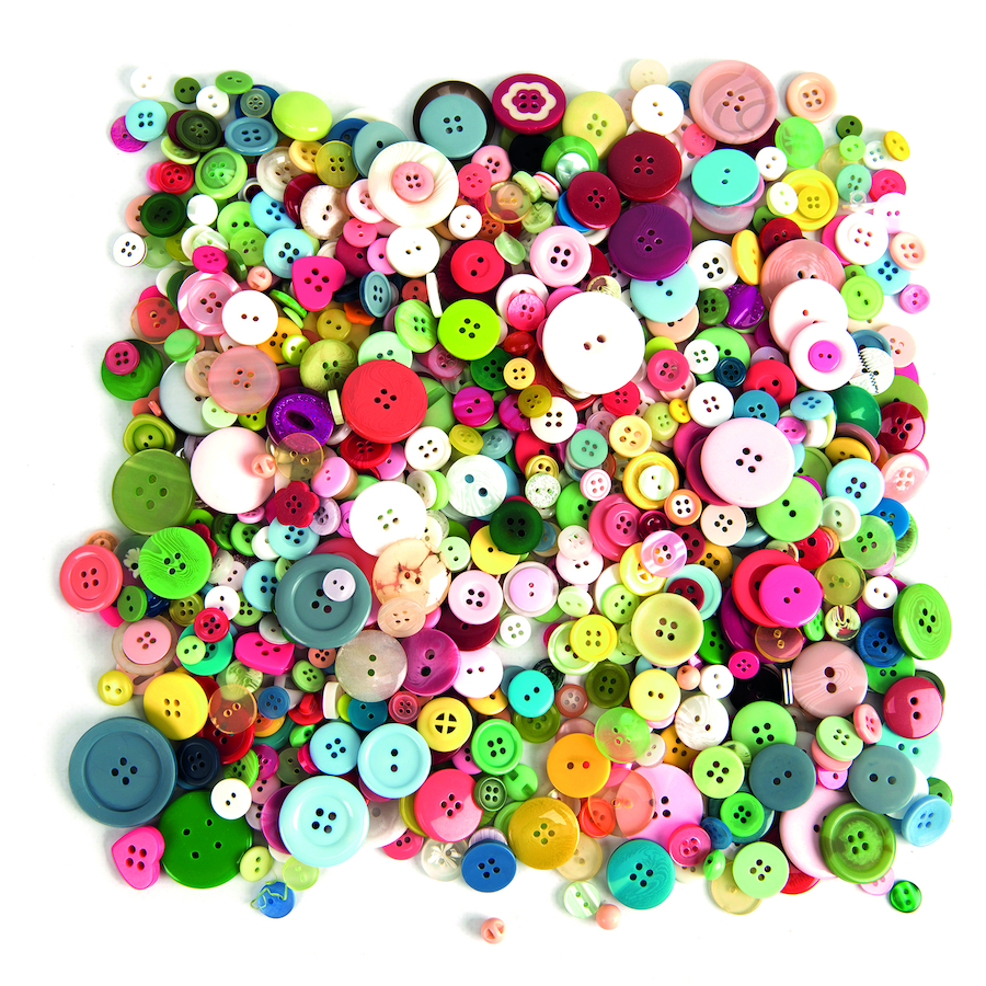 Buy Button: Buy Assorted Buttons 500g