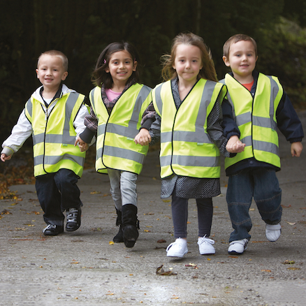 High Visibility Vests 4pk  large