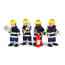 Small World Fire Fighters and Accessories  medium