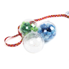 Large Plastic Baubles 12pk  small