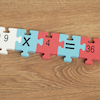 Foam Number Square Puzzle 1\-144  small