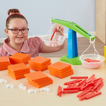 Weighted Base Ten Class Set 184pcs  medium