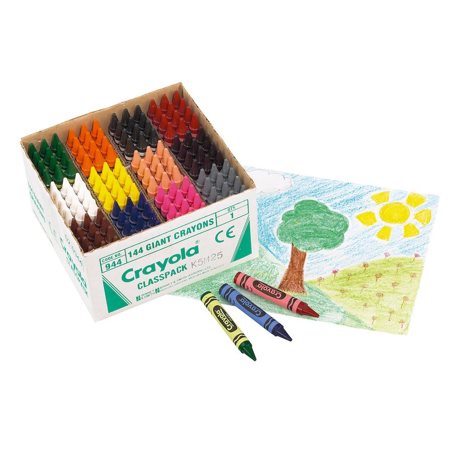 Crayola My First Crayons Wax Crayons 144pk