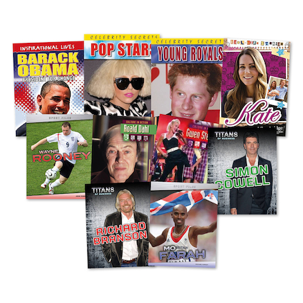 Inspirational People Books 10pk  large
