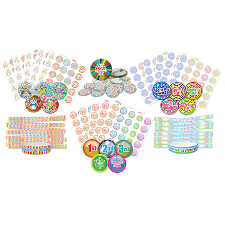 Sports Reward Sticker Pack 375pk  large