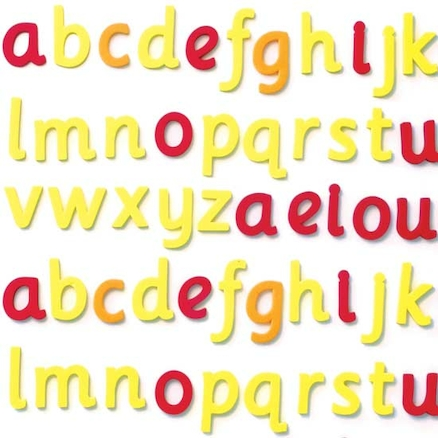 Foam Magnetic Phonic Cursive Letters Pack  large